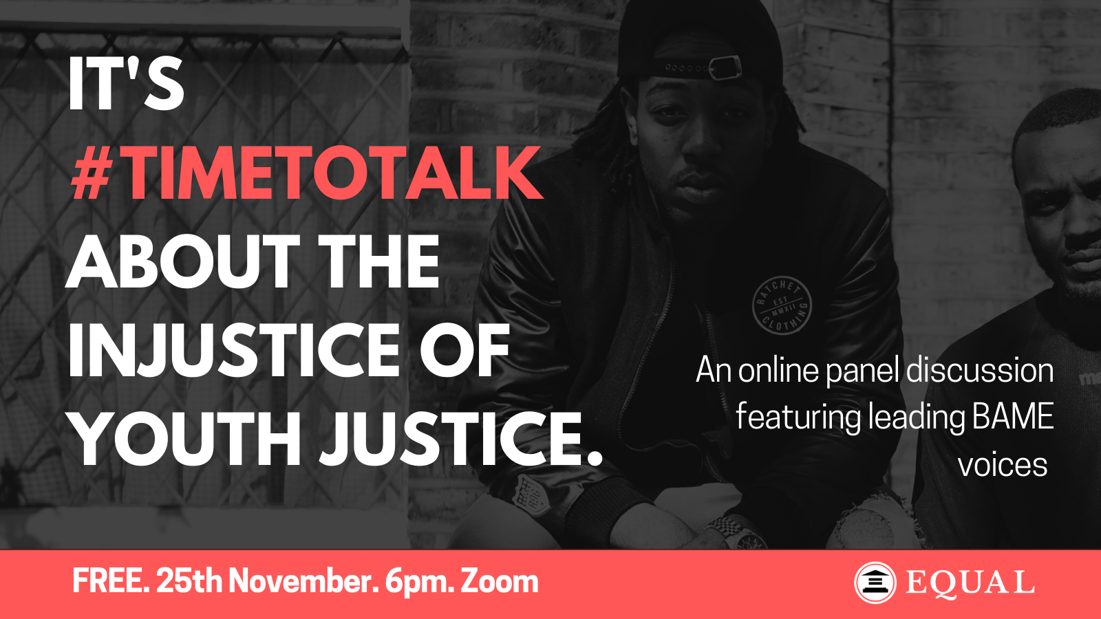 Details of The Time To Talk event hosted  by EQUAL